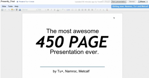 450 pages awesome presentation