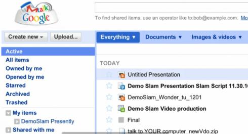 Animation Google Docs