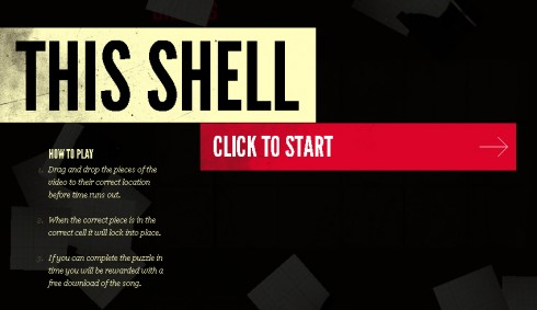 This Shell - Video puzzle html5