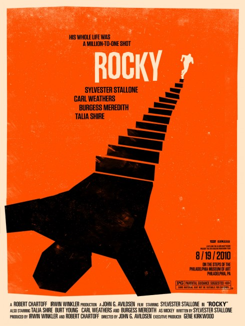 Olly Moss - Rocky