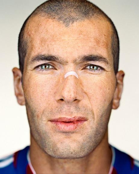 Zinedine Zidane par Martin Schoeller