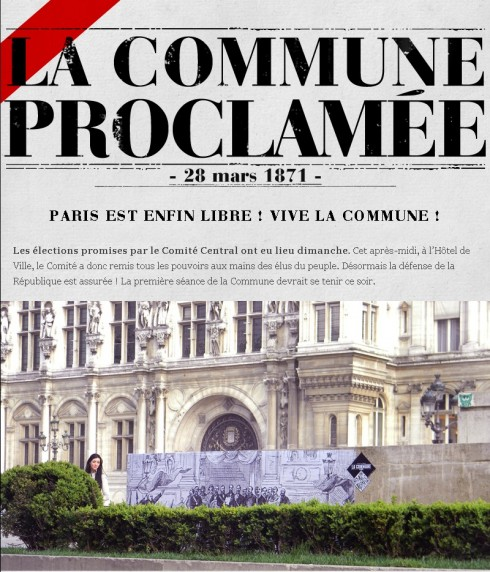 Commune de Paris 1871 | Projet Raspouteam