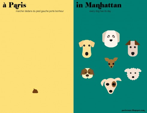 Les chiens 2 | Paris versus New York