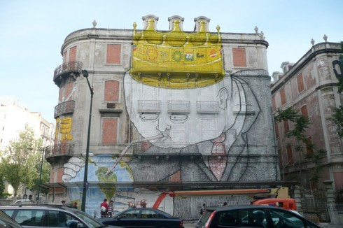 Os Gêmeos et Blu, Lisbonne