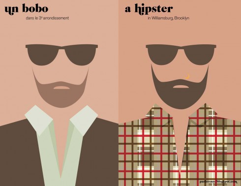 La barbe | Paris versus New York