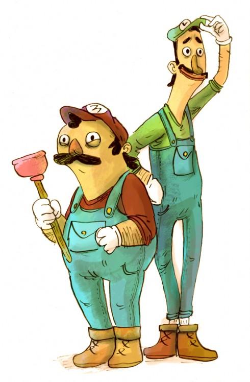 Zac Gorman - Mario & Luigi