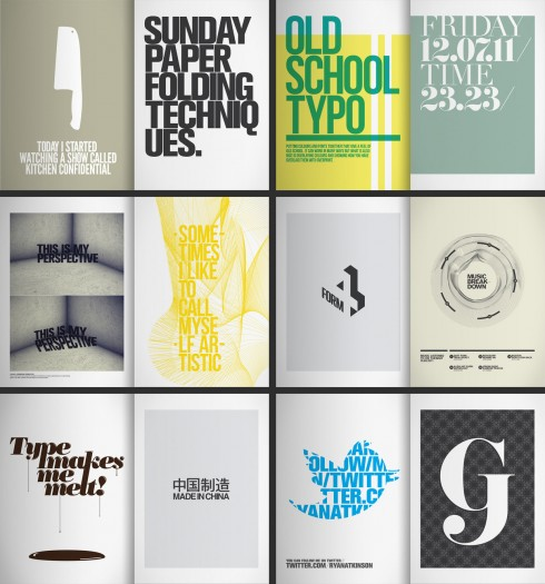 365 Typographic Journal - Ryan Atkinson