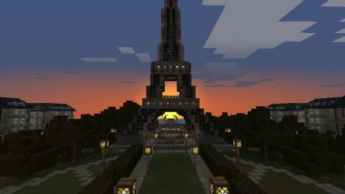 Minecraft - Tour Eiffel