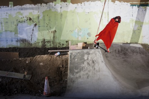 skate bush puts backside disasters on the shredding list
