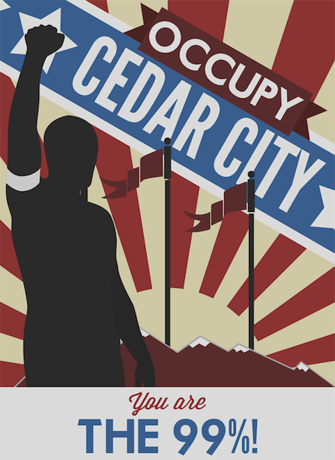Occupy Cedar City by Michael Barker