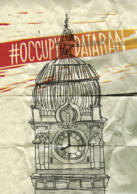 Occupy Dataran by Fahmi Reza