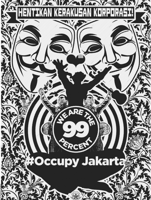 Occupy Jakarta by Nobodycorp.Internationale Unlimited