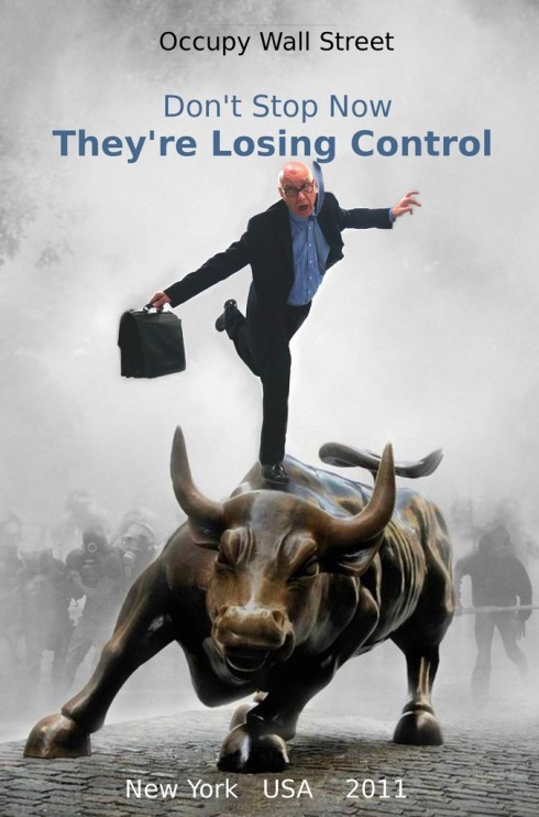 Occupy Wall Street They are loosing control