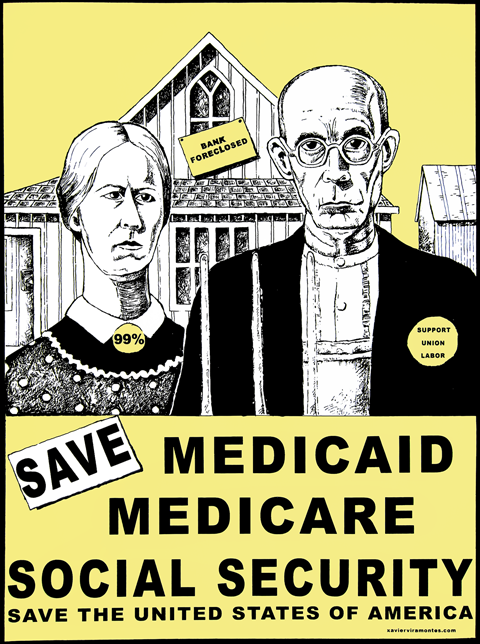 Save Medicaid by Xavier Viramontes