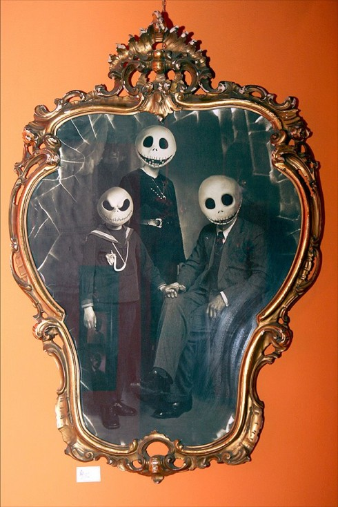 Portrait de famille Mr Jack Skellington - Marvellini